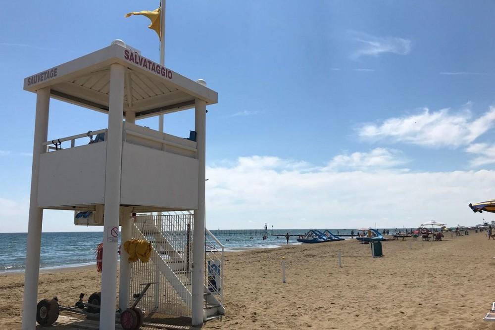 Badefahrt Lignano