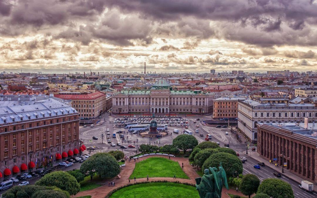 St. Petersburg zu den weißen Nächten