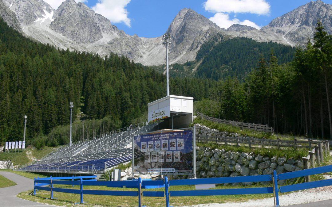 Antholz-Biathlon WM-Stadion